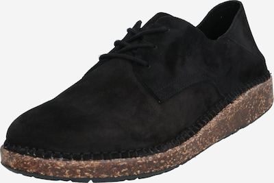 BIRKENSTOCK Chaussure à lacets '1013438' en noir: Vue de face
