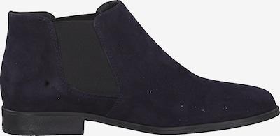 TAMARIS Chelsea boots in de kleur Navy: Zijaanzicht