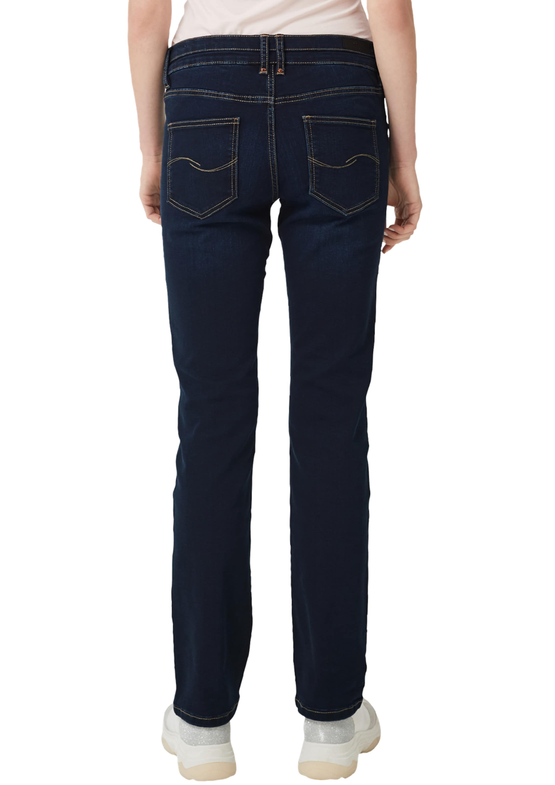 s StraightStretchjeans Q Blau In Designed By Catie OXZTkuPi