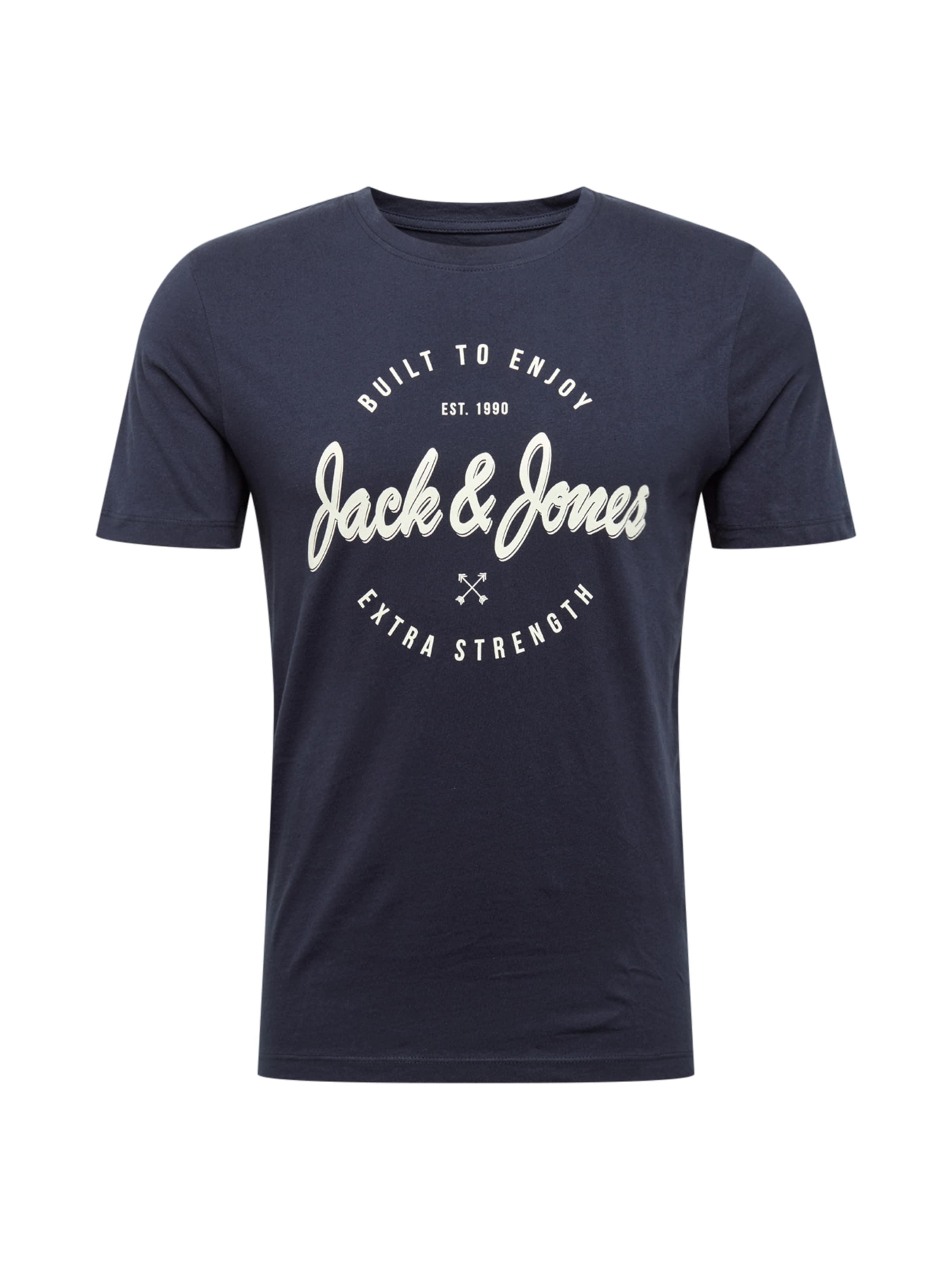 Bleu Jones 'jorrafa' shirt En MarineBlanc T Jackamp; 4A5Rjcq3L