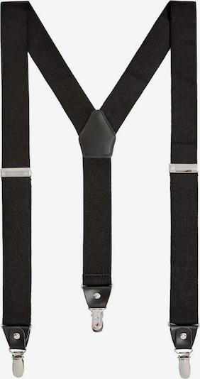 MANGO MAN Hosenträger in schwarz, Produktansicht