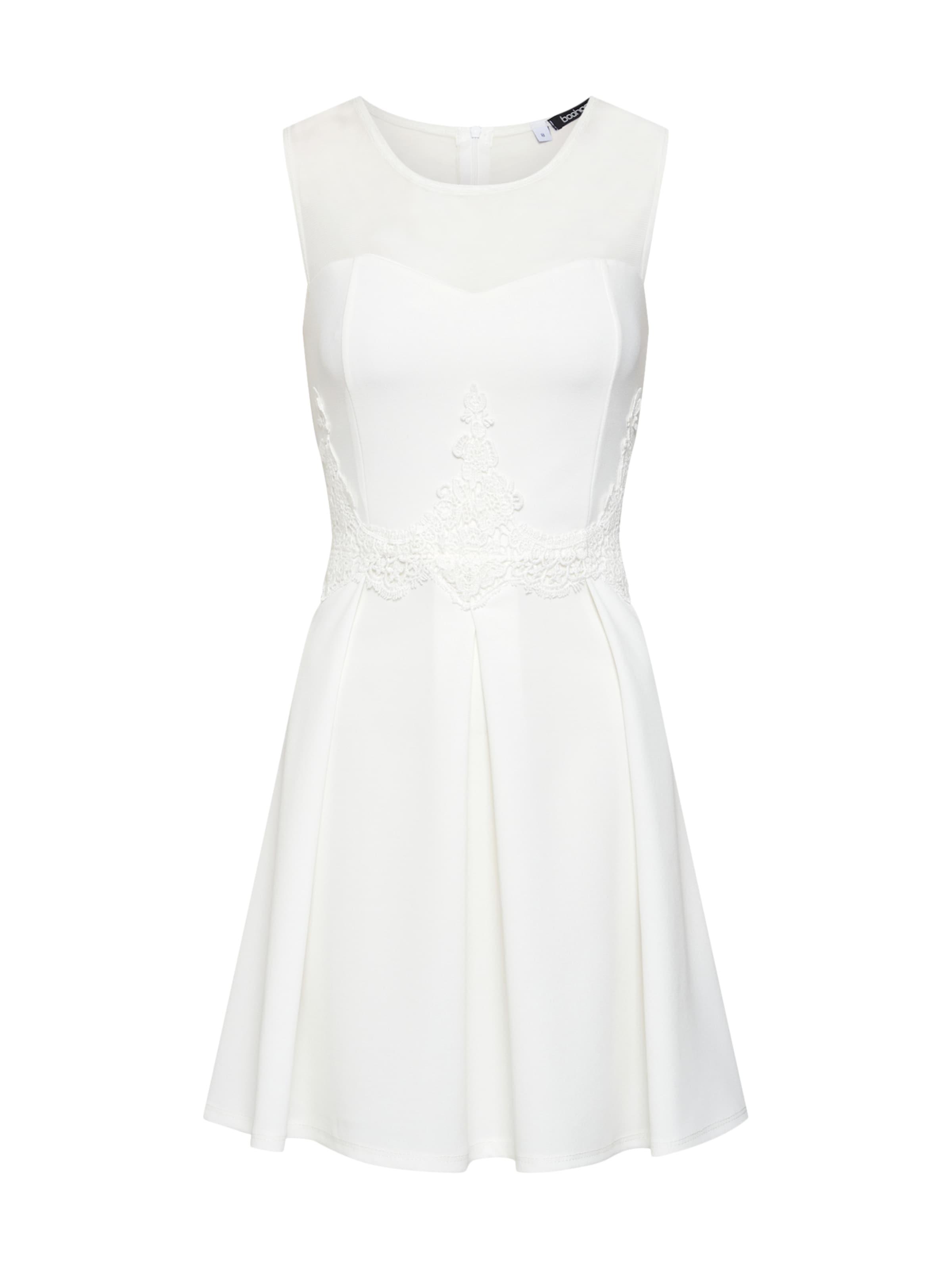 In Kleid Boohoo Boohoo In Weiß In Kleid Boohoo Weiß Kleid Boohoo Weiß 8PXn0wkO