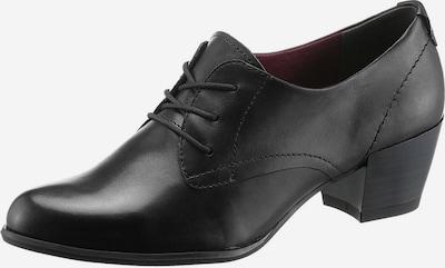 TAMARIS Salonarji z visoko peto | črna barva, Prikaz izdelka