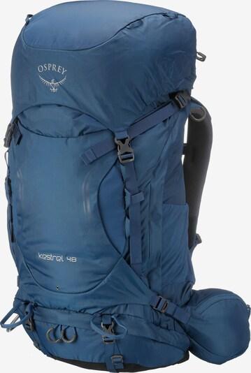 Osprey Rucksack 'Kestrel 48' in blau, Produktansicht