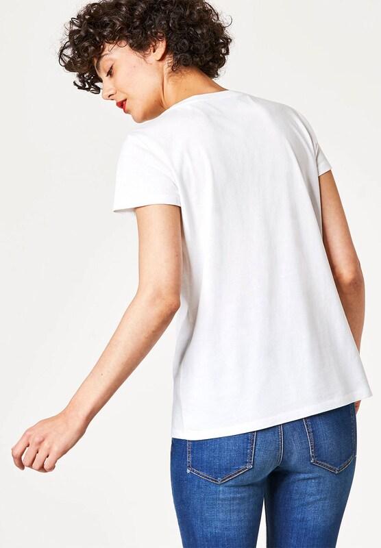 HALLHUBER Statement-T-Shirt mit Bändchenstickerei