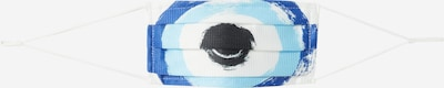 MEINFOTO, CUSTOMASK Maska z materiału 'CUSTOMASK PREMIUM' w kolorze niebieski / białym, Podgląd produktu