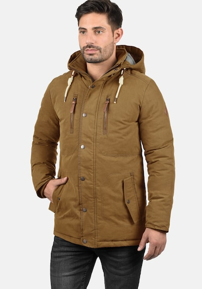 !Solid Winterjacke 'Dry Jacque' in braun: Frontalansicht