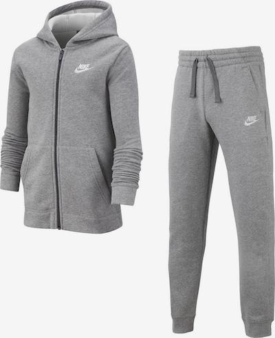 Nike Sportswear Jogginganzug 'TRK SUIT CORE BF' in graumeliert, Produktansicht