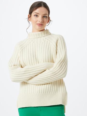smėlio Polo Ralph Lauren Megztinis 'TN PO-LONG SLEEVE-SWEATER'