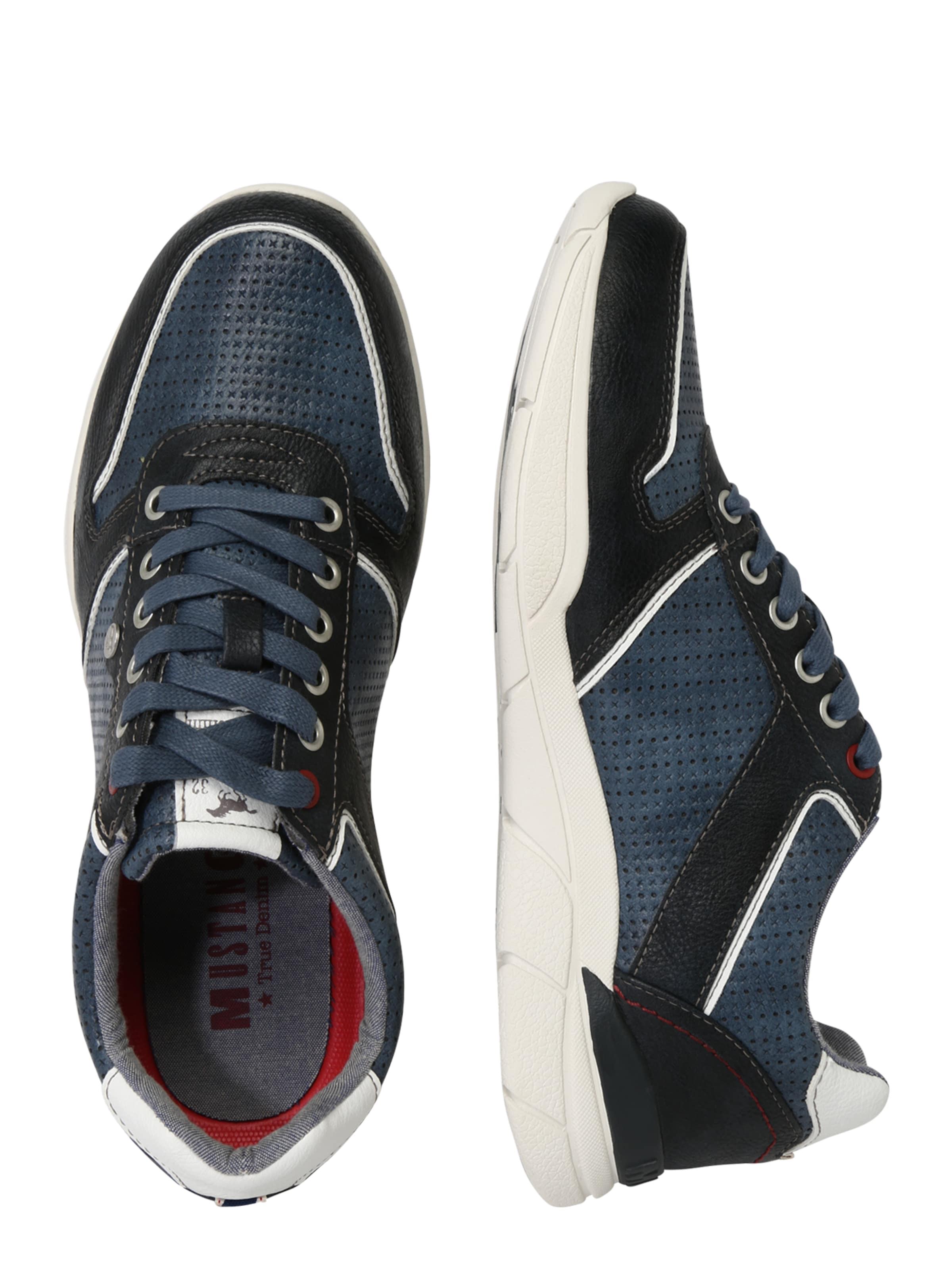 Mustang In NavyHimmelblau Weiß Sneaker Mustang In Sneaker TJKclF13