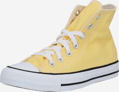 Sneaker înalt 'Chuck Taylor All Star' CONVERSE pe galben / negru / alb: Privire frontală