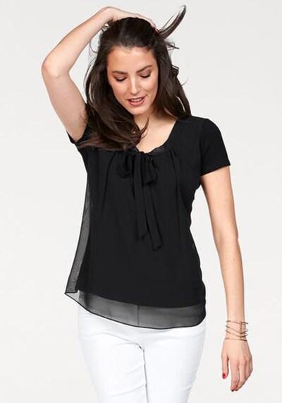 VIVANCE Shirtbluse in schwarz, Modelansicht