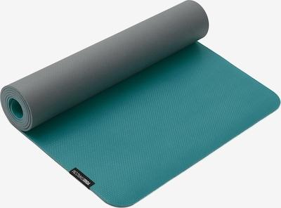 YOGISTAR.COM Yogamatte 'Surya' in türkis / grau, Produktansicht