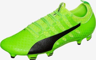 PUMA Fußballschuh 'evoPOWER Vigor 2 FG' in neongrün / schwarz, Produktansicht