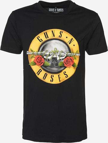 Mister Tee Paita 'Guns n' Roses' värissä musta
