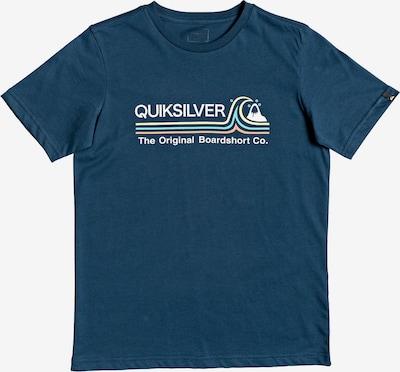QUIKSILVER T-Shirt in enzian / weiß, Produktansicht