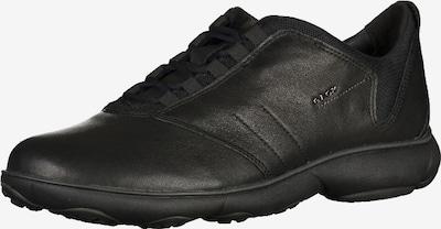 GEOX Chaussure de sport à lacets en noir, Vue avec produit