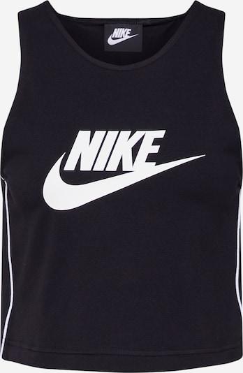 Nike Sportswear Topiņš melns / balts, Preces skats