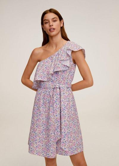 MANGO Letní šaty 'Lilack' - modrá / fialová / bílá, Model/ka