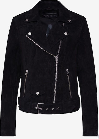FREAKY NATION Lederjacke 'Cat' in schwarz, Produktansicht