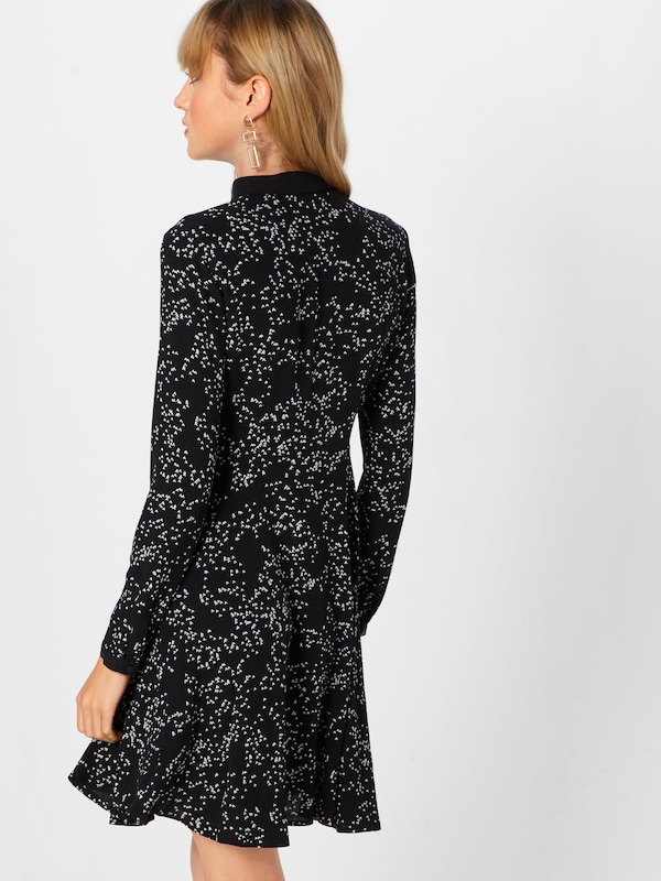 Robe 'dot Review Dr' En Noir Print UMVSpqz