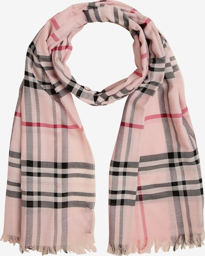 Franco Callegari Schal in rosa / rot / schwarz, Produktansicht