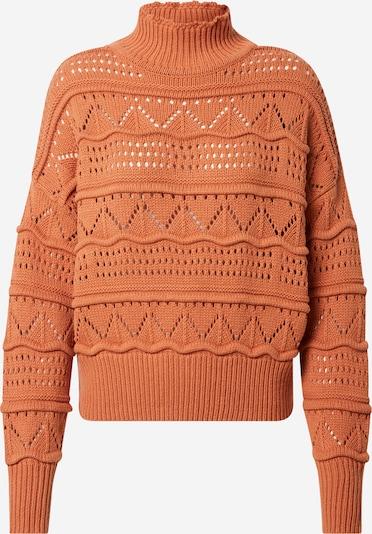 OBJECT Sweter w kolorze ciemnopomarańczowym: Widok z przodu