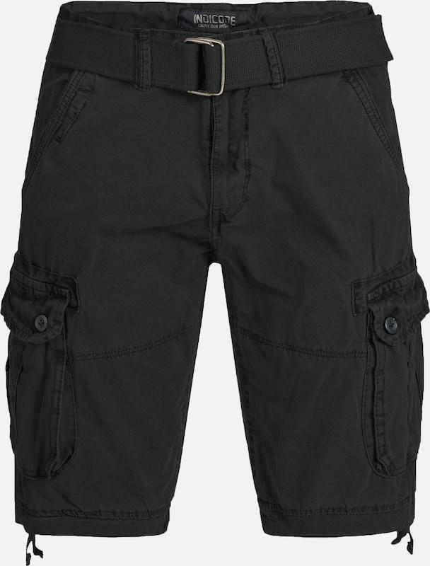 INDICODE JEANS Shorts 'Bolton' in schwarz  Markenkleidung für Männer und Frauen