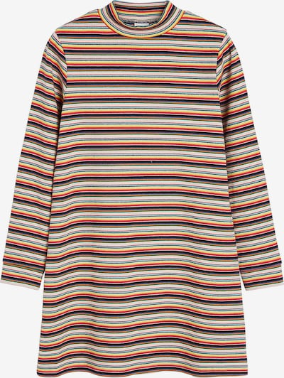 NEXT Jerseykleid in gelb / rot / weiß, Produktansicht