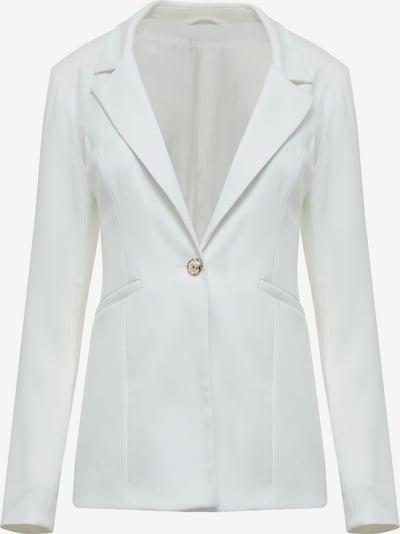 Usha Blazers in de kleur Wit: Vooraanzicht