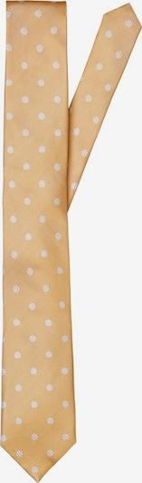SELECTED HOMME Stropdas in de kleur Donkergeel / Wit, Productweergave