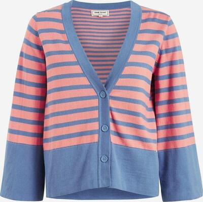 khujo Strickjacke ' KINSLEY ' in blau / rosa, Produktansicht