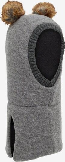 NAME IT Mütze in hellbraun / grau, Produktansicht