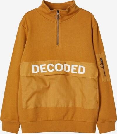 NAME IT Sweatshirt in karamell / weiß, Produktansicht