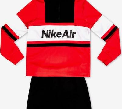 NIKE Trainingsanzug ' AIR HZ & JOGGER SET R1N BLAC ' in rot, Produktansicht