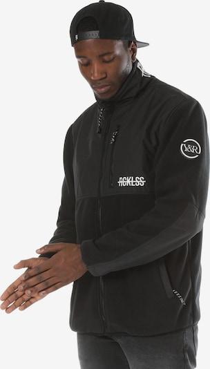 Young & Reckless Veste en polaire 'Polar' en noir, Vue avec produit