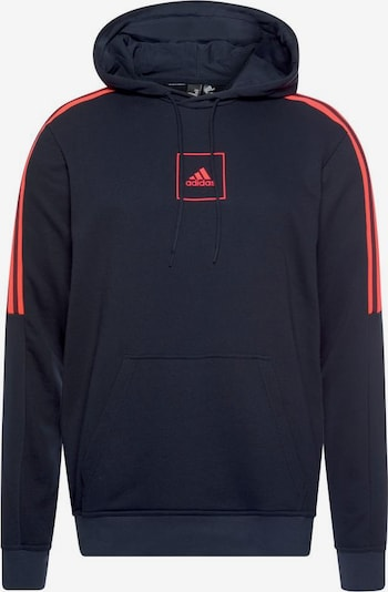 ADIDAS PERFORMANCE Sportsweatshirt in marine / koralle, Produktansicht