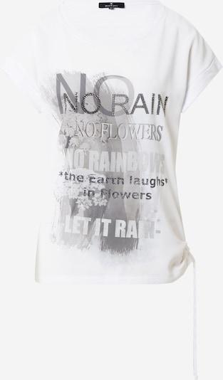 monari Shirt in grau / schwarz / weiß, Produktansicht