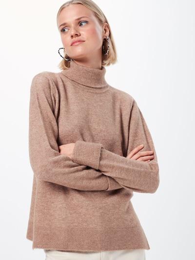 SELECTED FEMME Pulover 'LAURA' | bež barva: Frontalni pogled