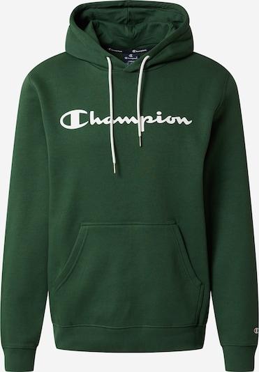 Champion Authentic Athletic Apparel Sweat-shirt en vert gazon / blanc, Vue avec produit