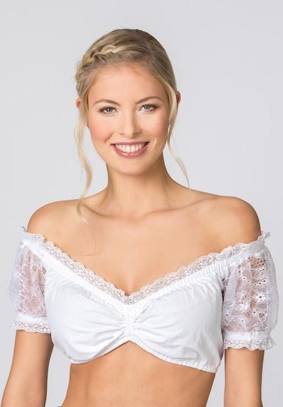 STOCKERPOINT Bluse in weiß, Modelansicht