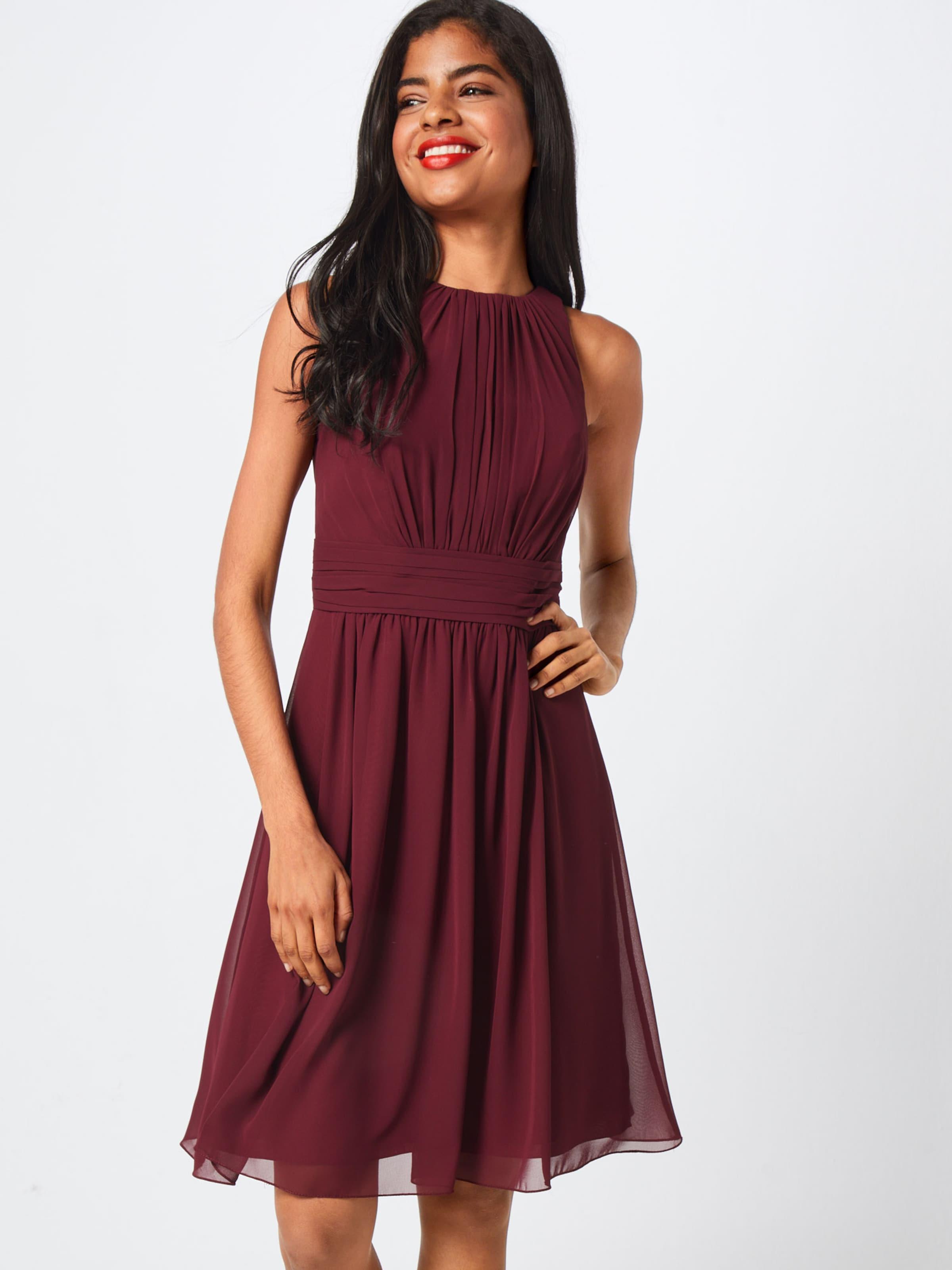 Star Chiffon' Cocktail Dress Bourgogne 'short Robe En Night De Nnwm80