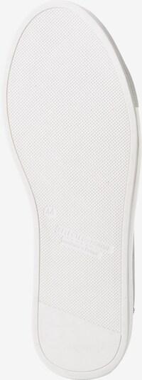 SELECTED HOMME Sneaker 'Shdavid' in schwarz / weiß: Ansicht von unten