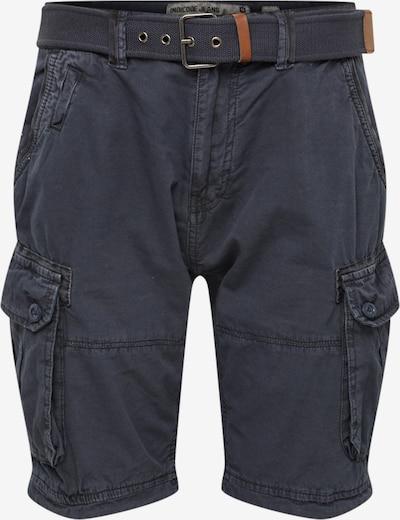 Pantaloni cu buzunare 'Balton' INDICODE JEANS pe navy, Vizualizare produs