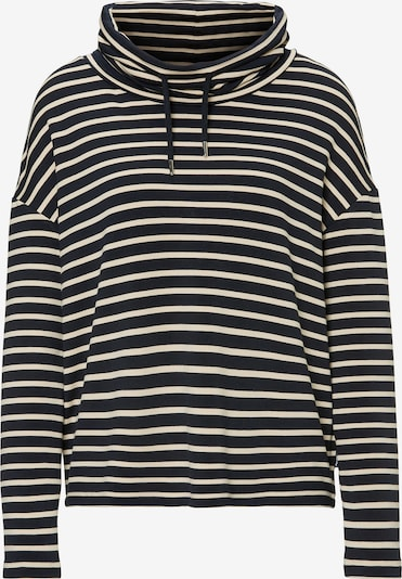 Marc O'Polo DENIM Sweatshirt in beige / schwarz, Produktansicht