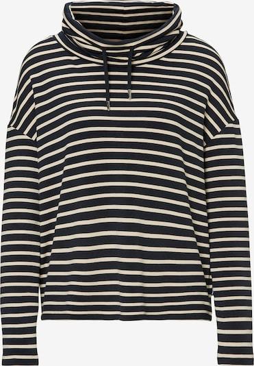 Marc O'Polo DENIM Sweatshirt in beige / schwarz, Produktansicht
