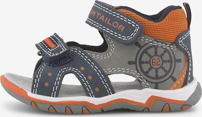 TOM TAILOR Open schoenen in de kleur Blauw, Productweergave