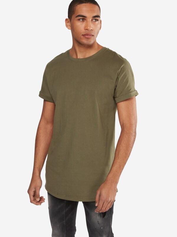Urban Classics T-Shirt 'Long Shaped Turnup Tee'