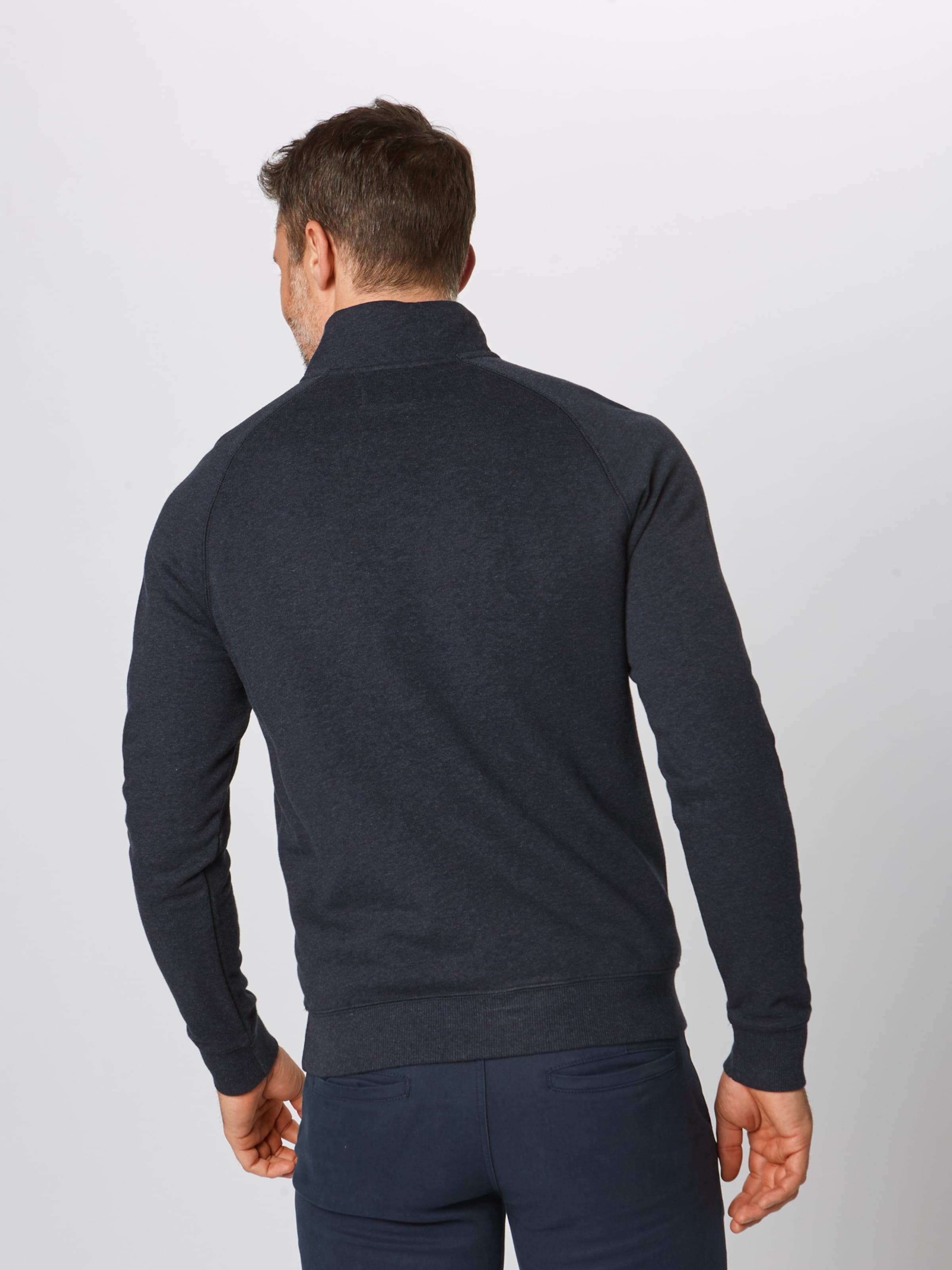 1 Sweatshirt 4 Navy Farah In 'jim Zip' bvmIyYf6g7