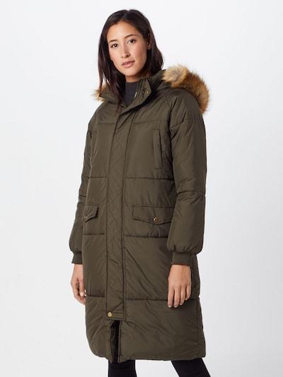 Urban Classics Winter coat in Olive, View model